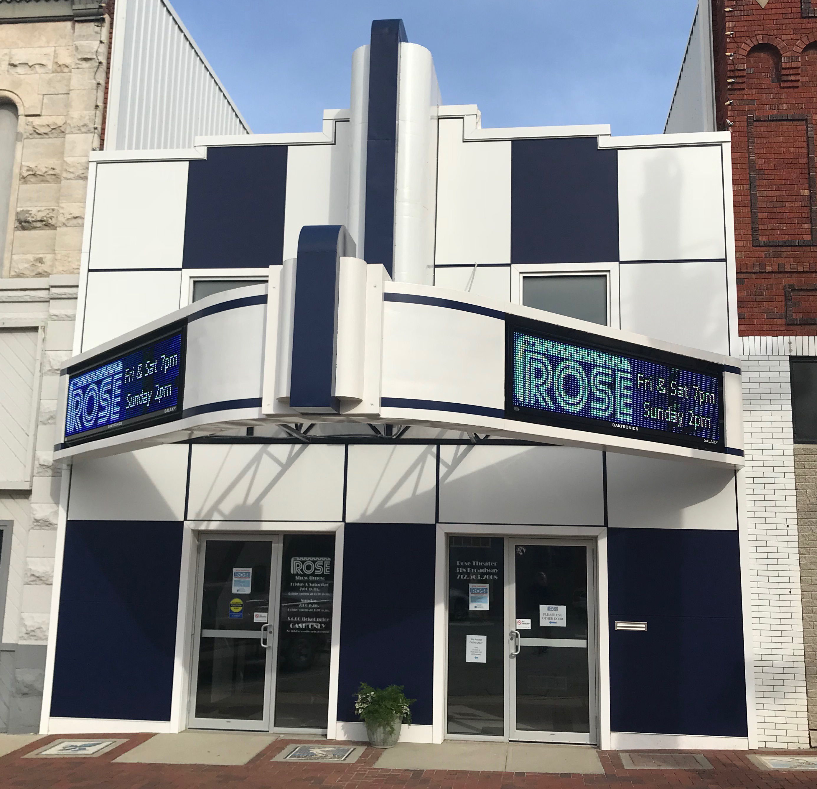 Rose Theater, Audubon