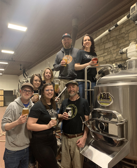 Fat Hill Brewery Crew Members