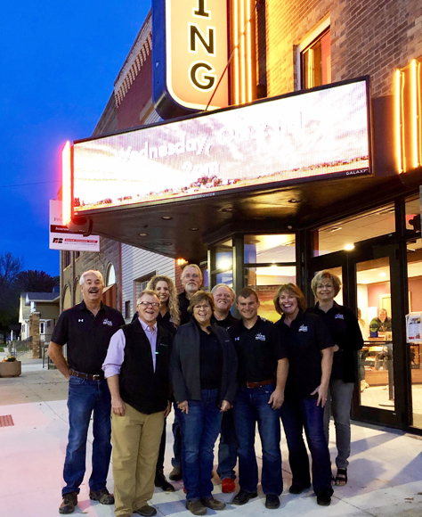 Renovated Historic Iowa Movie Theaters