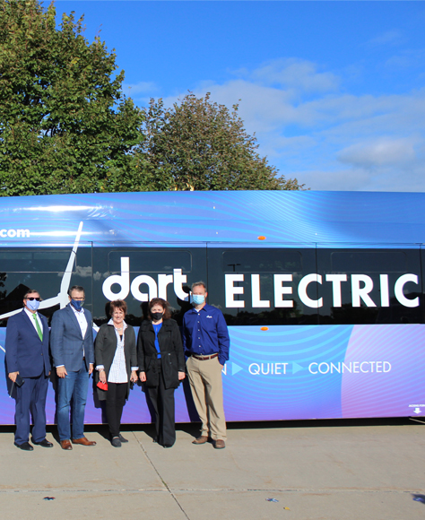 Dart Electric Bus - The week in social for Iowa